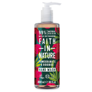 Faith in Nature Pomegranate & Rooibos Handwash 300ml
