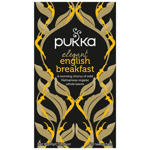Pukka Elegant English Breakfast 20 plastic free tea bags