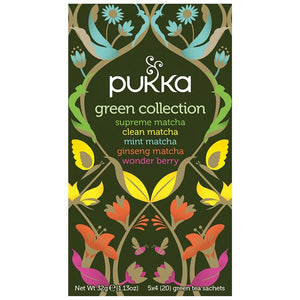Pukka Green Collection 20 plastic free tea bags