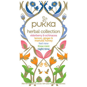 Pukka Herbal Collection 20 plastic free tea bags