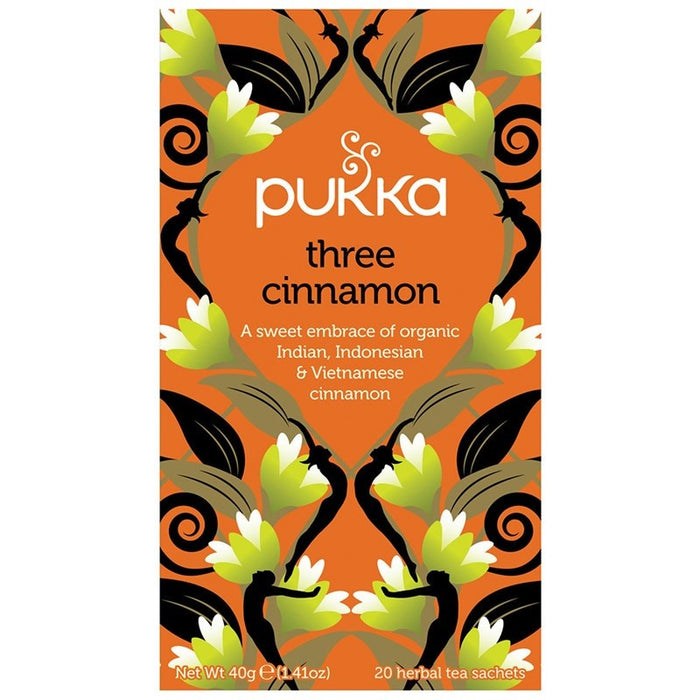Pukka Three Cinnamon 20 plastic free tea bags