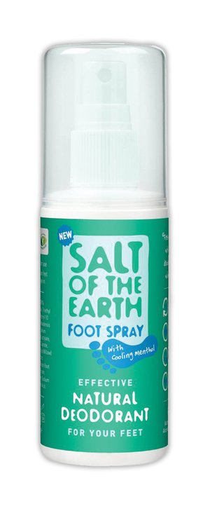 Salt of the Earth - A natural deodorant foot spray 100ml
