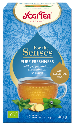 Yogi Tea® For The Senses Pure Freshness 20 Bags