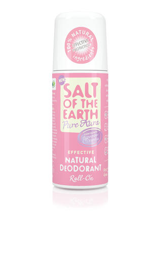 Salt of the Earth - Lavender & Vanilla Natural Roll-On Deodorant 75ml
