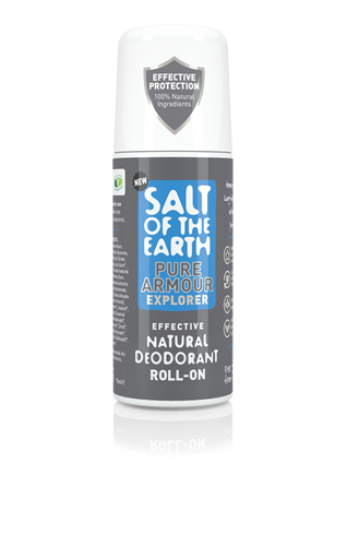 Salt of the Earth - Pure Armour Explorer Natural Roll-On Deodorant for Men 75ml