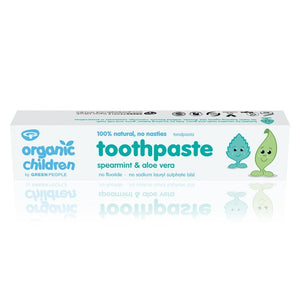 Green People Organic Children's Spearmint & Aloe Vera Toothpaste 50ml