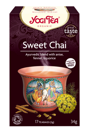 Yogi Tea® Sweet Chai Organic 17 Bag