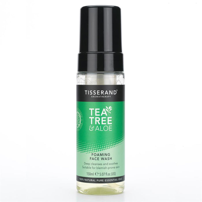 Tisserand Tea Tree & Aloe Foaming Face Wash 150ml