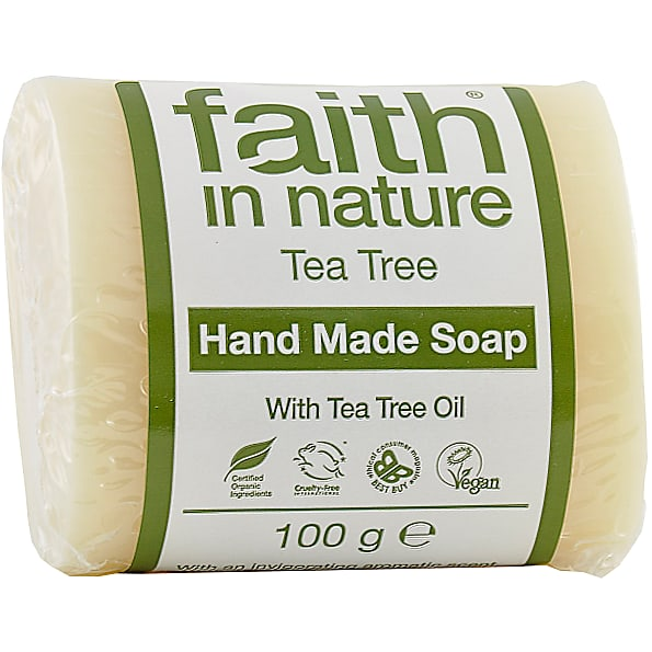 Faith in Nature Tea Tree Pure Vegetable Soap 100g