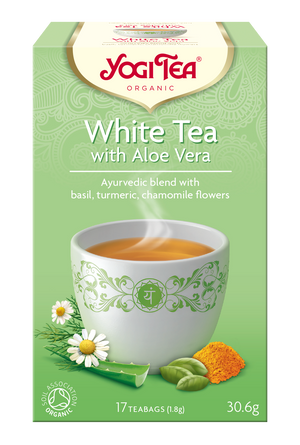 Yogi Tea® White Tea Aloe Vera Organic 17 Bag