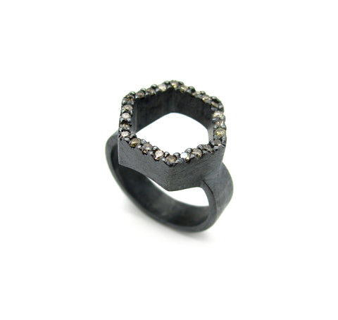 Diamond Hex Ring