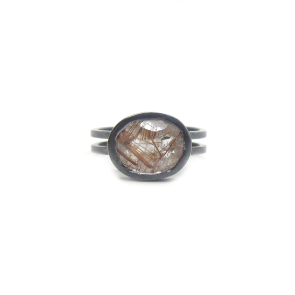 Quartz Scaffold Ring