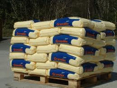 49 x 25kg bags @ £4.19 per bag + £45.00 delivery