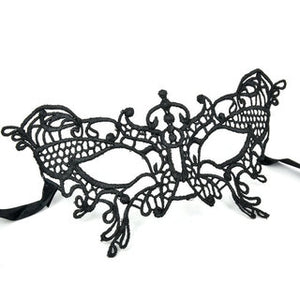 MASK LACE BLACK