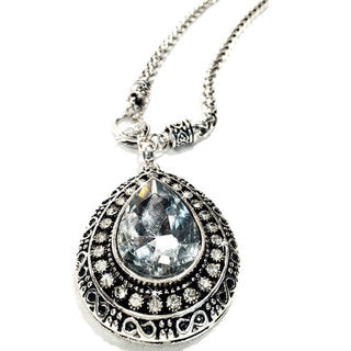 NECKLACE ANTIQUE TEAR DROP