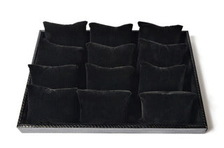 DISPLAY TRAY WITH CUSHIONS