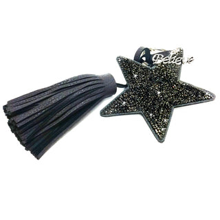 KEYCHAIN STAR WITH TASSEL