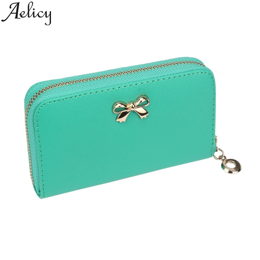 Women's Simple Bow Wallet