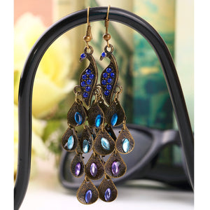 Women Long Pendant Earrings