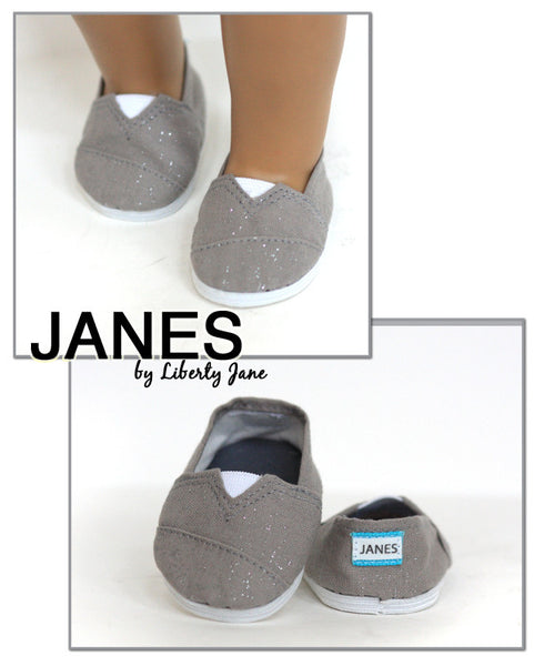 JANES - Grey Sparkle