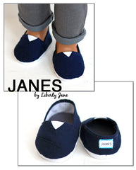 JANES - Navy Cotton