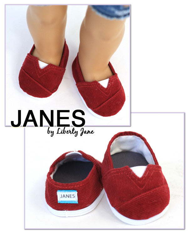 JANES - Red Corduroy