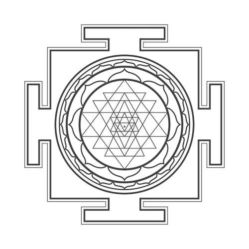 sri yantra - sacred geometry