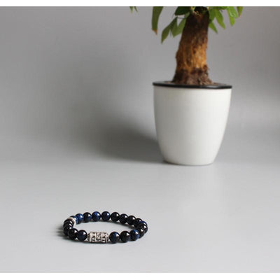 Blue Eagle Eye Totem Bracelet