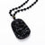 Lucky Dragon Obsidian Necklace