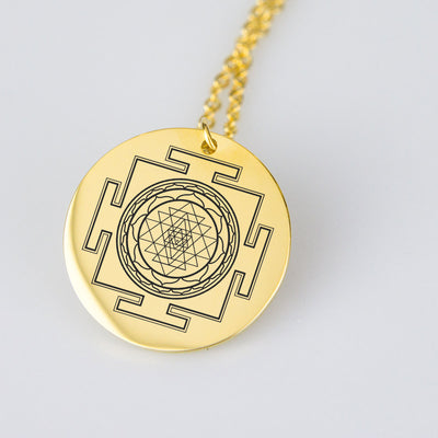 Sacred Sri Yantra Necklace