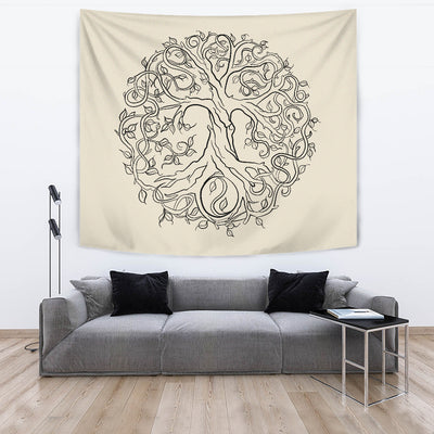 Bodhi Tree Of Life Tapestry