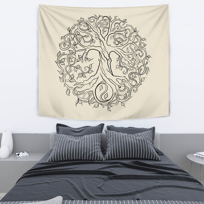 Bodhi Tree Of Life Tapestry - buddhakind