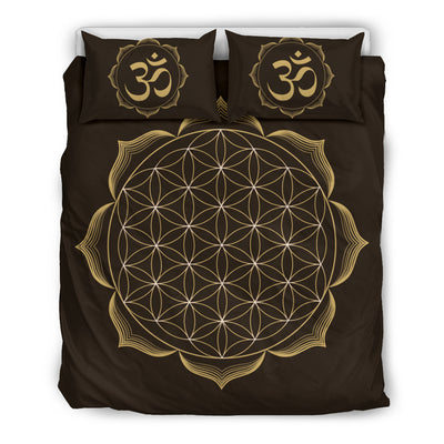 Sacred Geometry Flower Of Live bedding  - buddhakind