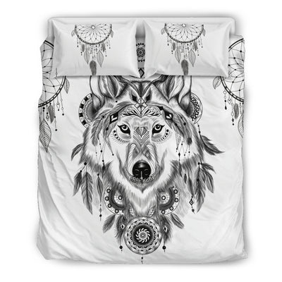 Bohemian Wolf Bedding Set