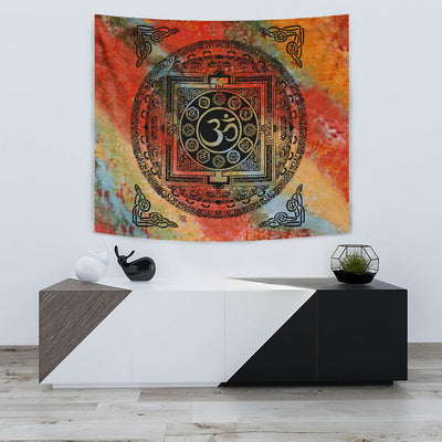 Om Tapestry - om wall hanging