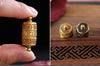 Traditional Tibetan Prayer Wheel Amulet
