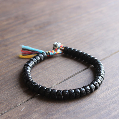 Tibetan Hand Braided Lucky Knots bracelet