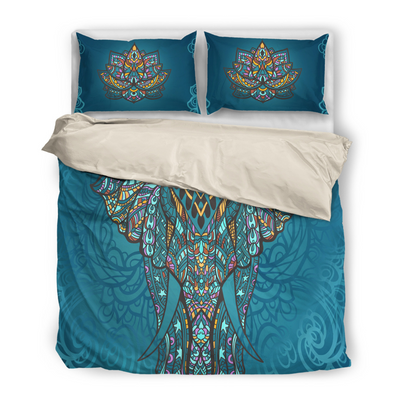 Indian Elephant Bedding Set