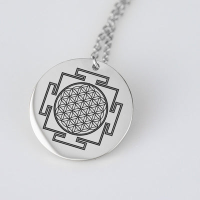 Flower Of Life Yantra Necklace