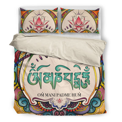 Om Mani Padme Hum Bedding Set