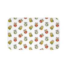 Load image into Gallery viewer, Cute Owls Bath Mat