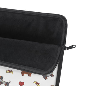 Adorable Dachshund Laptop Sleeve