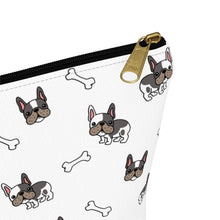 Load image into Gallery viewer, French Bulldog Pug T-bottom Accessory Pouch