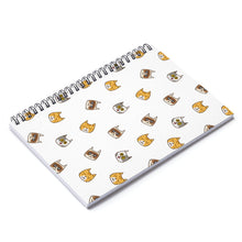 Load image into Gallery viewer, Cute Cats Spiral Notebook