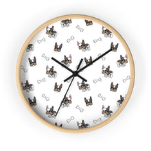 Load image into Gallery viewer, French Bulldog Pug Wall Clock