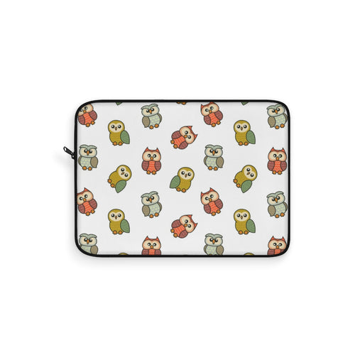 Adorable cute owls laptop sleeve accessory