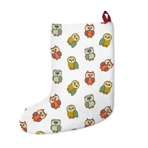 Cute Owls Christmas Stockings