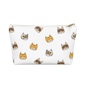 Cute Cats Accessory Pouch with Zipper
