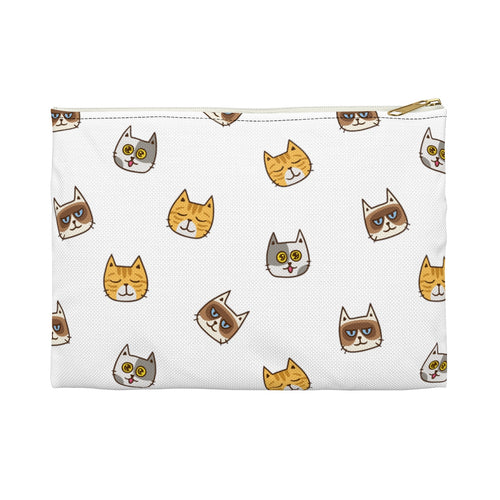 Cute Cats Accessory Pouch