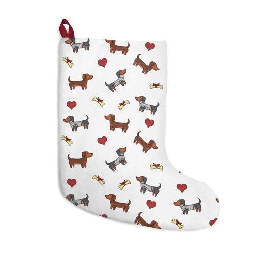 Adorable Doxie Christmas Stockings